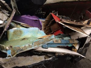 This is an image of debris.